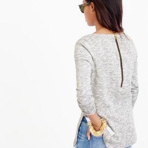 XL J Crew tunic style sweatshirt
